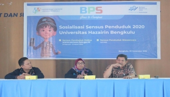 BPS Goes to Campus Sosialisasi Sensus Penduduk 2020